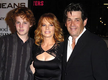 Premiere: Marg Helgenberger with husband Alan Rosenberg and son Hugh at the Hollywood premiere of Universal Pictures' In Good Company - 12/6/2004