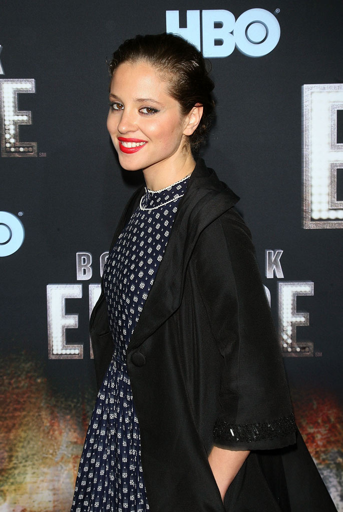 "Margarita Levieva attends the premiere of ""Boardwalk Empire"" at the Ziegfeld Theatre on September 15, 2010, in New York City."