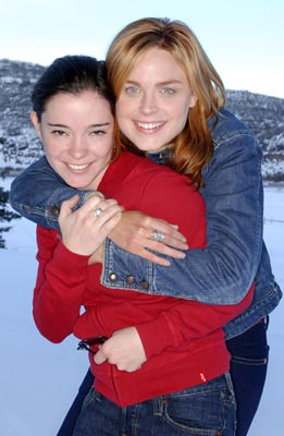 "Marguerite Moreau and Emily Deschanel ""Easy"" - 1/18/2004 Sundance Film Festival"