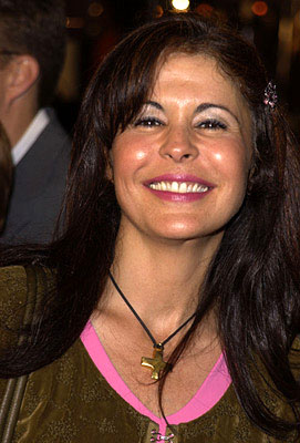 Premiere: Maria Conchita Alonso of The Running Man at the Westwood premiere of K-Pax - 10/22/2001
