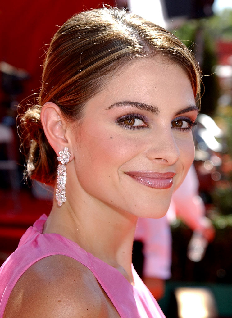Maria Menounos at The 54th Annual Primetime Emmy Awards.