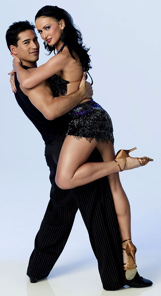 Actor Mario Lopez teams up with professional dancer Karina Smirnoff for Season 3 of Dancing with the Stars