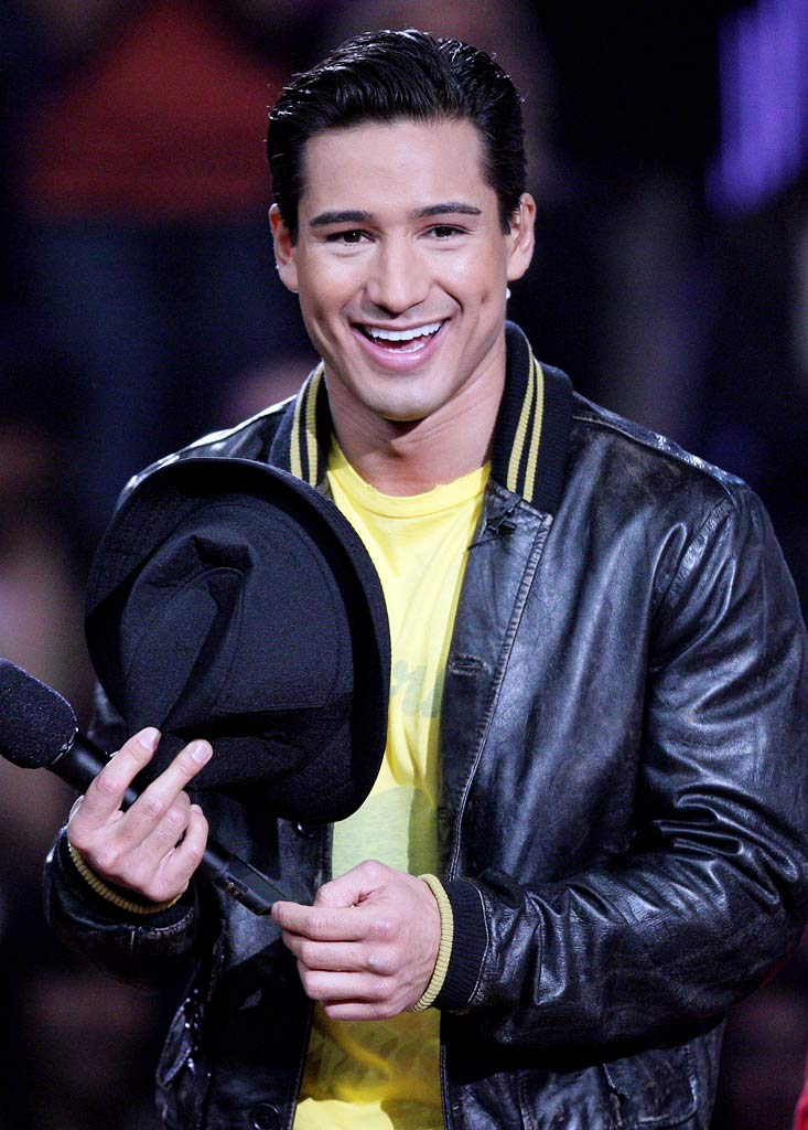Mario Lopez during taping of Randy Jackson Presents America's Best Dance Crew on March 4, 2008 in Culver City, California.