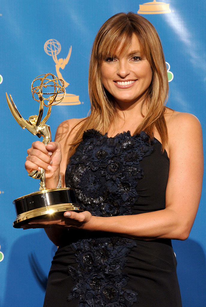 "Mariska Hargitay, winner of Outstanding Lead Actress in a Drama Series for ""Law & Order: SVU"" at The 58th Annual Primetime Emmy Awards."