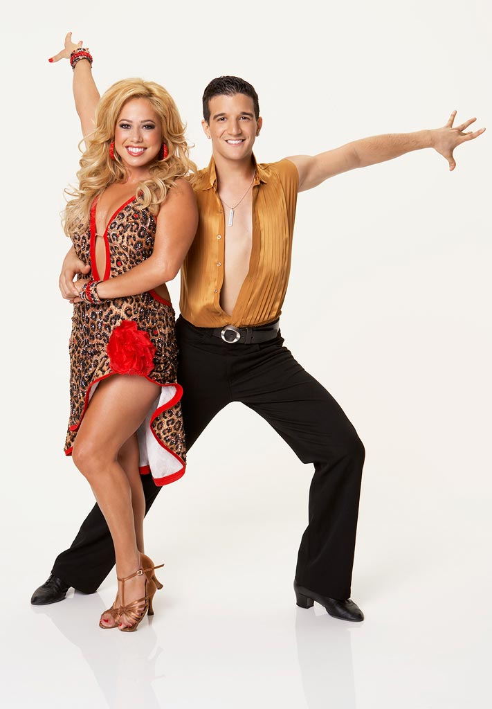 Actress and recording artist Sabrina Bryan teams up with professional dancer Mark Ballas for the Season 5 of Dancing with the Stars.