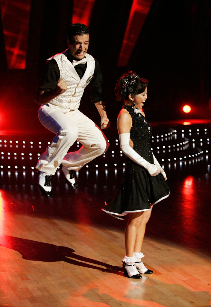 "After ten weeks of entertaining drama, camaraderie and dazzling performances, Kristi Yamaguchi and her professional partner Mark Ballas, are crowned champions of ""Dancing with the Stars."""