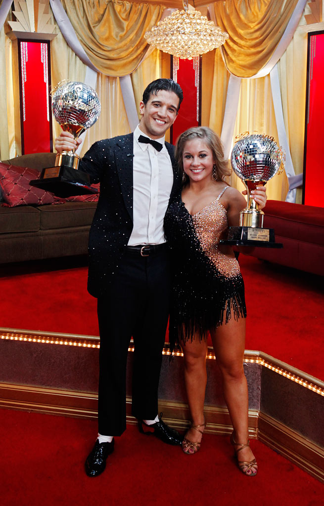 "After ten weeks of entertaining drama, surprises and dazzling performances, Shawn Johnson and her professional partner, Mark Ballas, broke away from the pack and were crowned champions of ""Dancing with the Stars."""