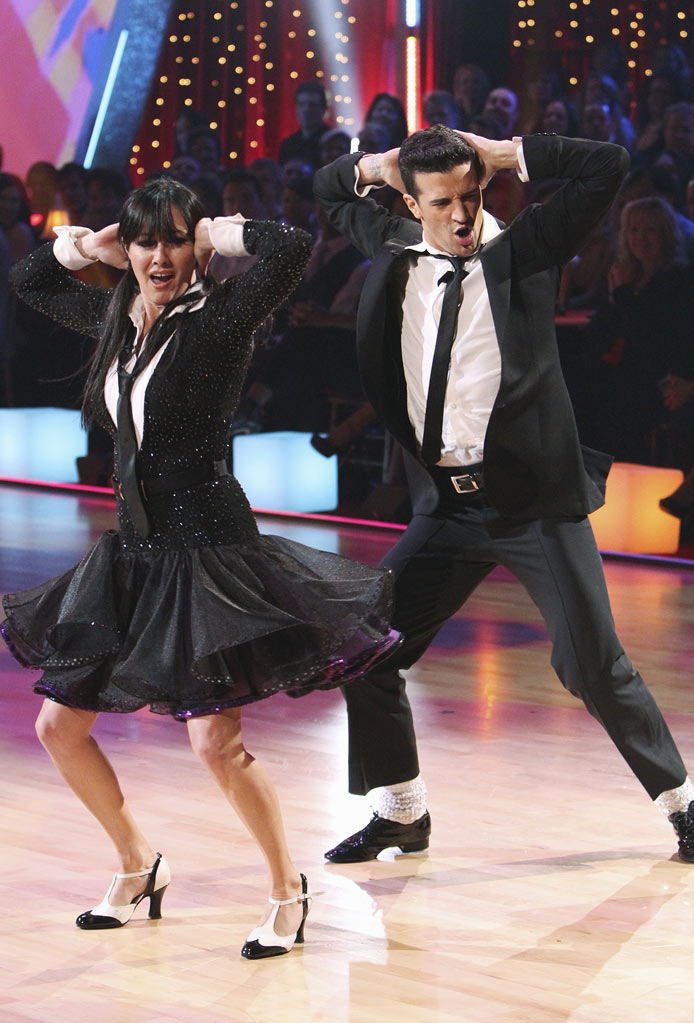 "Shannen Doherty and Mark Ballas on ""Dancing with the Stars."""
