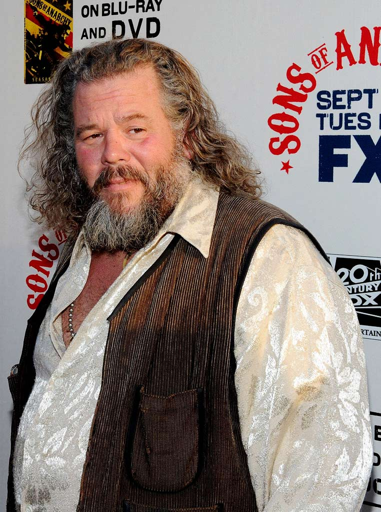 "Mark Boone Junior attends FX's ""Sons Of Anarchy"" Season 3 premiere on August 30, 2010, in Hollywood."