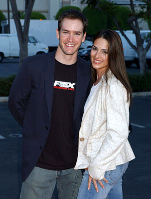 Premiere: Mark-Paul Gosselaar and Lisa Ann Russell at the Los Angeles premiere Paramount Pictures' Without a Paddle - 8/16/2004