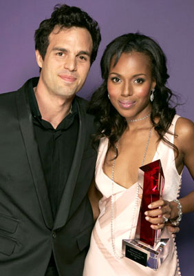 Mark Ruffalo and Kerry Washington Hollywood Life's 4th Annual Breakthrough of the Year Awards - 12/12/2004