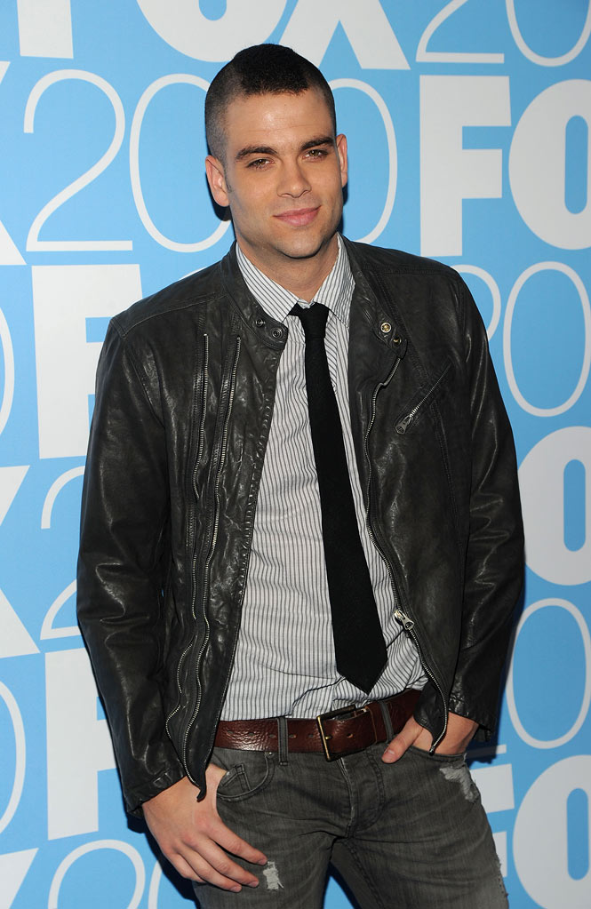 "Mark Salling (""Glee"") attends the 2010 Fox Upfront after party at Wollman Rink, Central Park on May 17, 2010 in New York City."