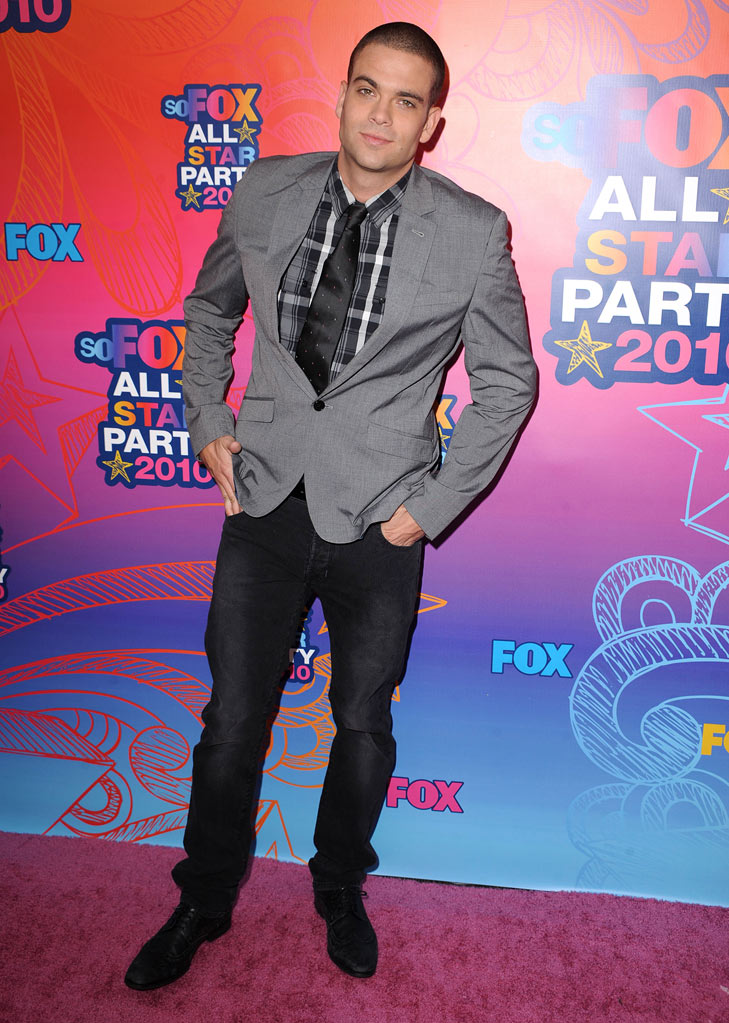 """Glee's"" Mark Salling arrives at the Fox 2010 Summer TCA All-Star Party on August 2, 2010 in Santa Monica, California."
