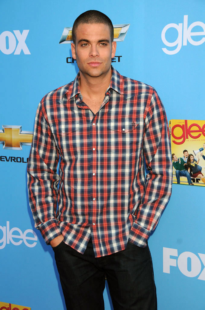 "Mark Salling attends the ""Glee"" Season 2 Premiere Screening and DVD Release Party at Paramount Studios on September 7, 2010, in Hollywood."