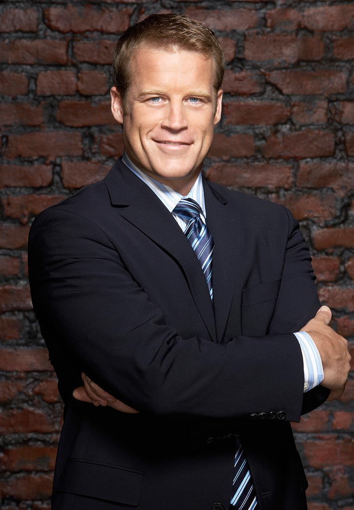 Mark Valley stars as Brad Chase on the ABC Television Network's Boston Legal