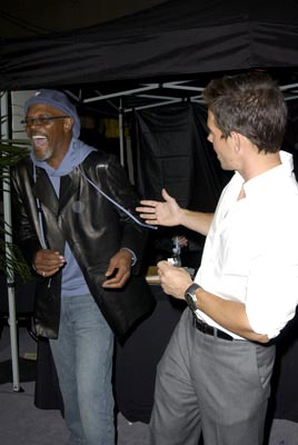Samuel L. Jackson, Mark Wahlberg MTV Movie Awards - 5/31/2003