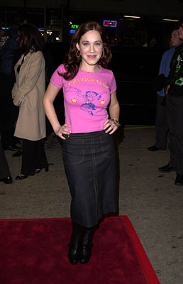 Premiere:  Marla Sokoloff at the Westwood premiere of New Line's Sugar and Spice - 1/24/2001