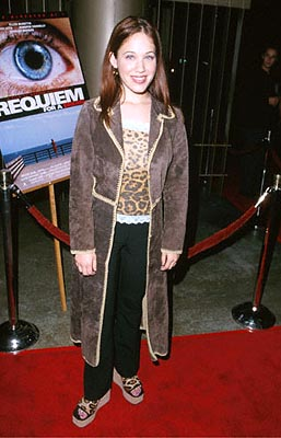 Premiere: Marla Sokoloff at the Egyptian Theatre premiere of Artisan's Requiem For A Dream - 10/16/2000