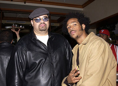 Premiere: Heavy D and Marlon Wayans at the LA premiere of All About The Benjamins - 3/6/2002