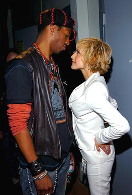 Marlon Wayans and Brittany Murphy MTV Movie Awards - 6/5/2004