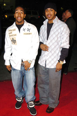 Premiere: Omari Grandberry and Marques Houston at the Hollywood premiere of Paramount Pictures' Coach Carter - 1/13/2005