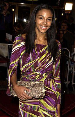 Premiere: Marsha Thomason at the Westwood premiere of Spy Game - 11/19/2001