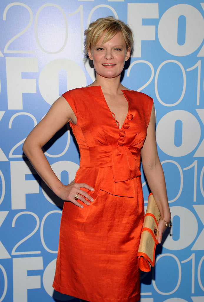 "Martha Plimpton (""Raising Hope"") attends the 2010 Fox Upfront after party at Wollman Rink, Central Park on May 17, 2010 in New York City."