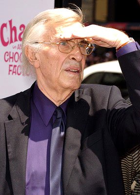 Premiere: Martin Landau at the LA premiere of Warner Bros. Pictures' Charlie and the Chocolate Factory - 7/10/2005