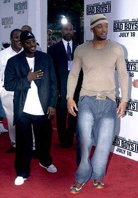 Premiere: Martin Lawrence and Will Smith at the LA premiere of Columbia's Bad Boys II - 7/9/2003