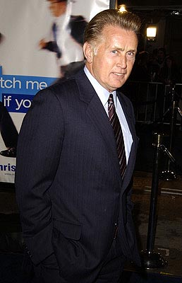 Premiere:  Martin Sheen at the Hollywood premiere of Dreamworks' Catch Me If You Can - 12/16/2002
