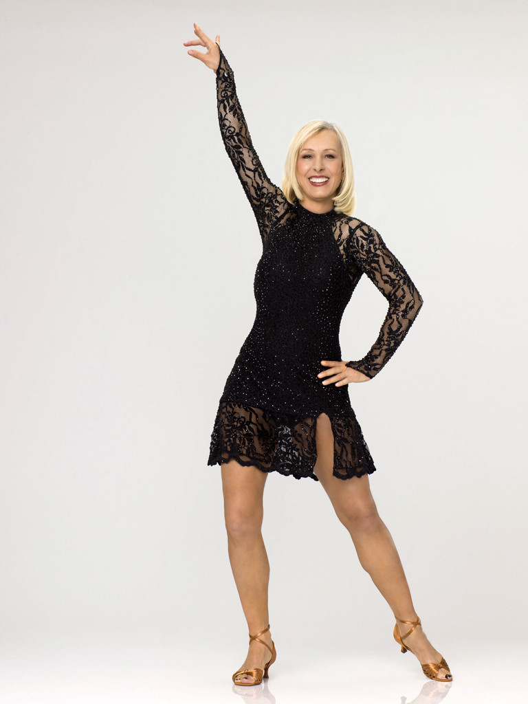 "Martina Navratilova competes on Season 14 of ""Dancing With the Stars."""