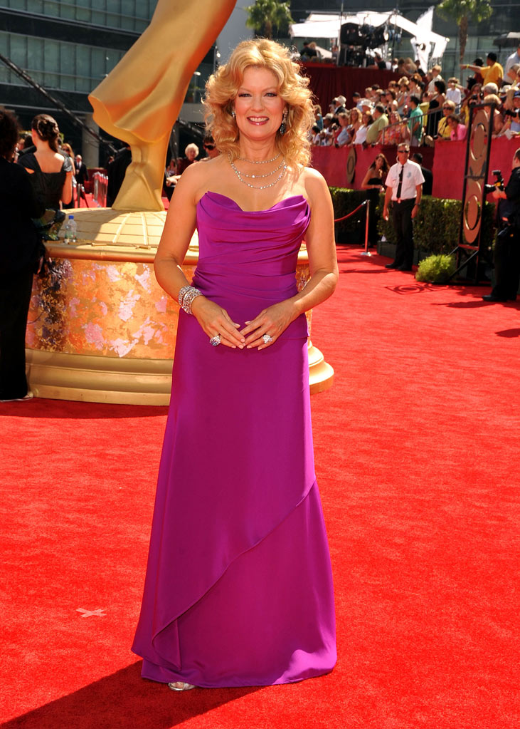 Mary Hart arrives at the 61st Primetime Emmy Awards held at the Nokia Theatre on September 20, 2009 in Los Angeles, California.