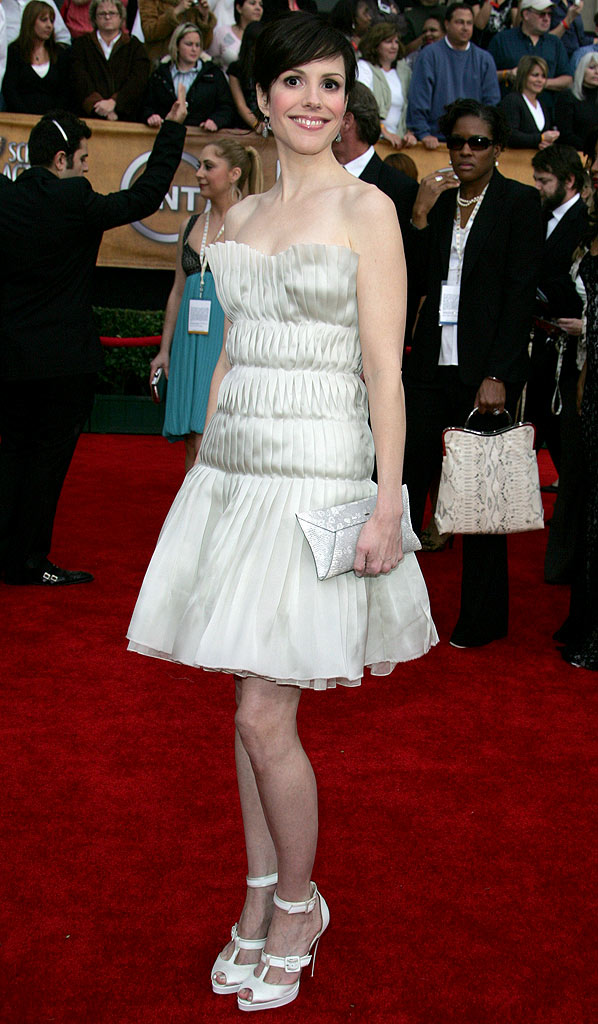 Mary-Louise Parker at the 13th Annual Screen Actors Guild Awards.