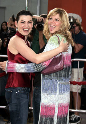 Premiere: Julianna Margulies and Mary McCormack at the Hollywood premiere of Dreamworks' Anchorman - 6/28/2004