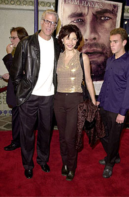 Premiere: Ted Danson, Mary Steenburgen and Ted's son Charles at the Westwood premiere of 20th Century Fox's Cast Away - 12/7/2000