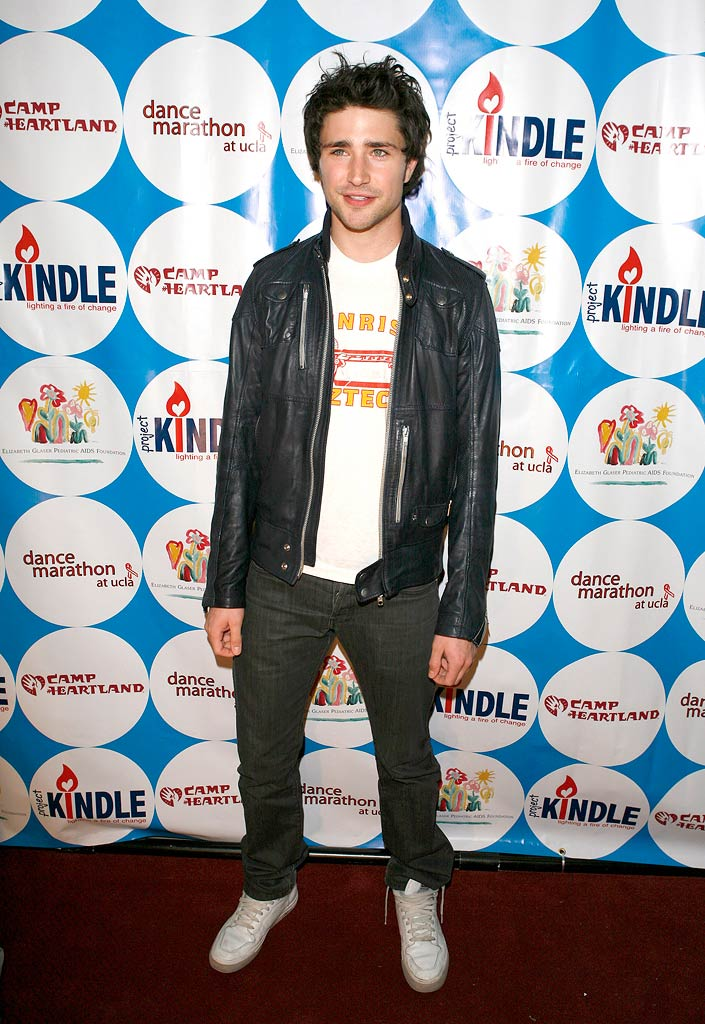 Matt Dallas poses on the red carpet at the 7th annual UCLA Dance Marathon for the Elizabeth Glaser Pediatric AIDS Foundation, Camp Heartland and Camp Kindle, held at the Ackerman Grand Ballroom on the UCLA campus.