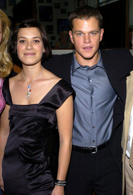 Premiere: Franka Potente and Matt Damon at the Hollywood premiere of Universal Pictures' The Bourne Supremacy - 7/16/2004