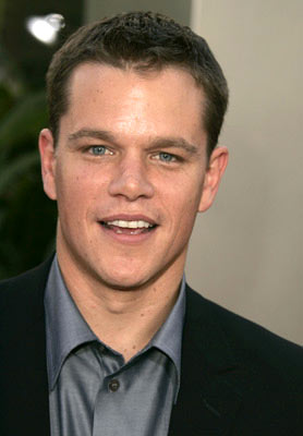 Premiere: Matt Damon at the Hollywood premiere of Universal Pictures' The Bourne Supremacy - 7/16/2004