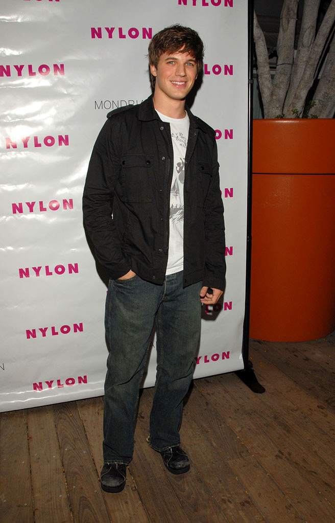 Matt Lanter arrives at the Nylon Magazine's TV Issue Launch Party at the SkyBar on August 24, 2009 in West Hollywood, California.