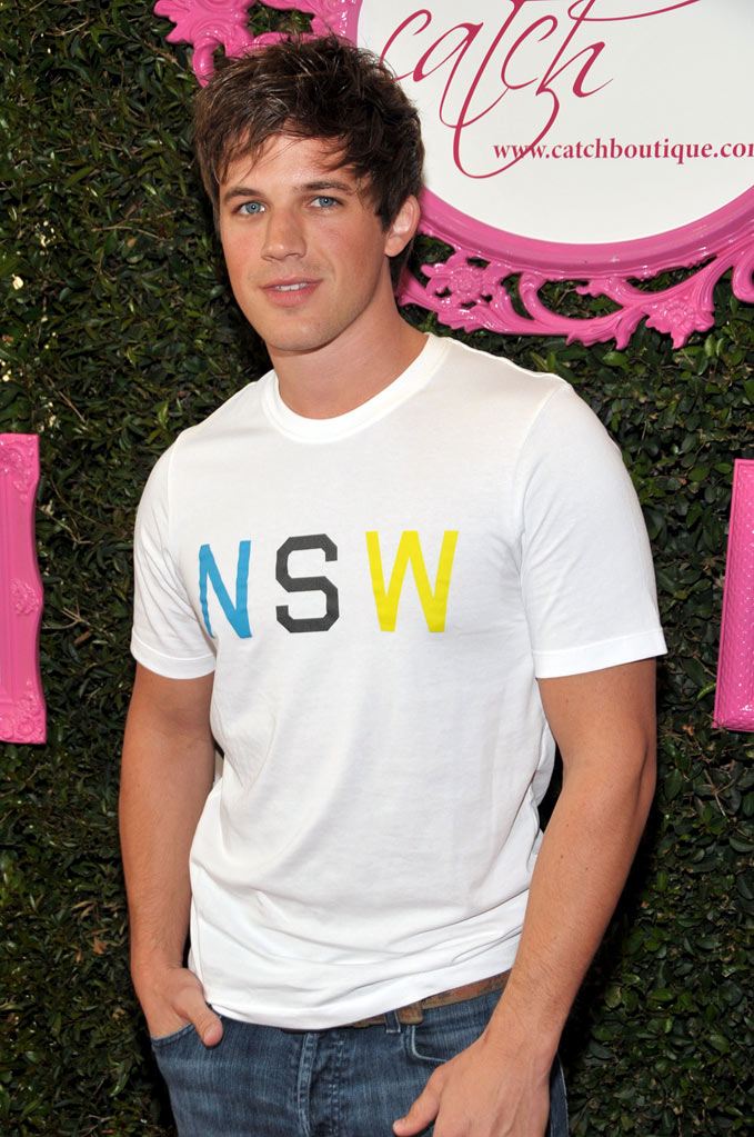 Matt Lanter arrives at the Catch Boutique Launch at The Mark on April 30, 2009 in Los Angeles, California.