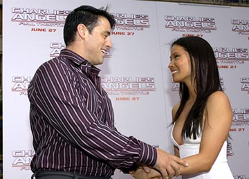 Premiere: Matt LeBlanc and Lucy Liu at the LA premiere of Columbia's Charlie's Angels: Full Throttle - 6/18/2003