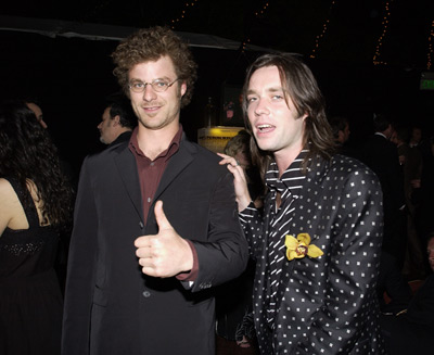 Matt Stone and Rufus Wainwright Elton John AIDS Foundtation In-Style Party Hollywood, CA 3/24/2002