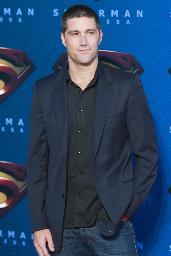 "Matthew Fox at the ""Superman Returns"" Mexico City Premiere."