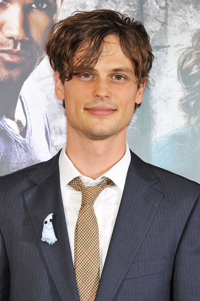 "Matthew Gray Gubler attends the ""Criminal Minds"" DVD launch promotion event at Tsutaya Roppongi on November 19, 2011 in Tokyo, Japan."