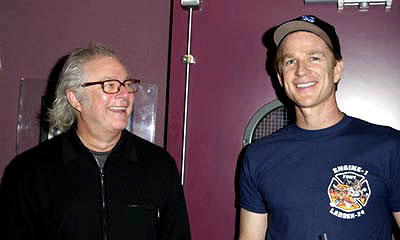 Premiere: Barry Levinson and Matthew Modine at a New York screening of MGM's Bandits - 9/25/2001