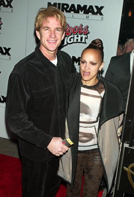 Premiere: Matthew Modine and wife at the New York premiere of Miramax's Kill Bill: Volume 1 - 10/7/2003