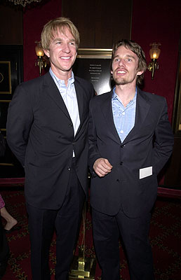 Premiere: Matthew Modine and Ethan Hawke at the New York premiere of Warner Brothers' A.I.: Artificial Intelligence - 6/26/2001