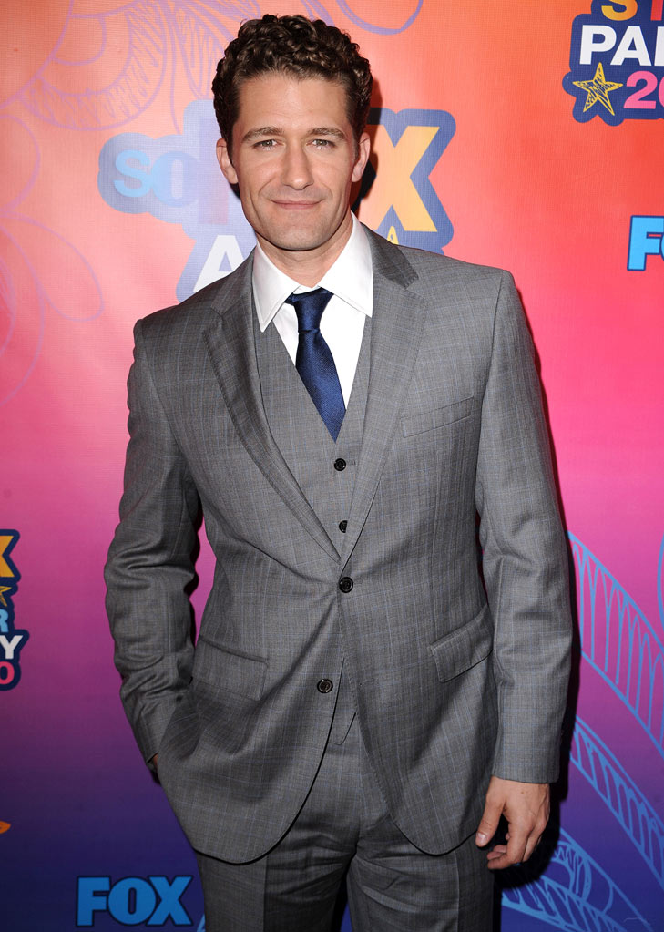 """Glee's"" Matthew Morrison arrives at the Fox 2010 Summer TCA All-Star Party on August 2, 2010 in Santa Monica, California."