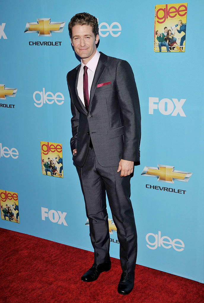 "Matthew Morrison attends the ""Glee"" Season 2 Premiere Screening and DVD Release Party at Paramount Studios on September 7, 2010, in Hollywood."