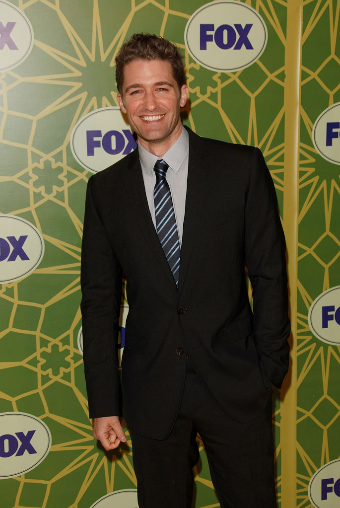 "Matthew Morrison (""Glee"") attends the 2012 Fox Winter TCA All-Star Party at Castle Green on January 8, 2012 in Pasadena, California."